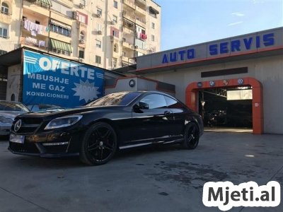 Mercedes CL 500 4matic (LOOK 63 AMG) +550HP 2013